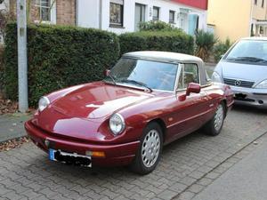 Alfa Spider 2 Liter mit Hard Top