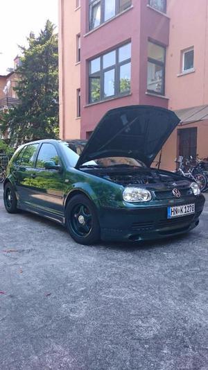 Sondermodell ABT -VW Golf  PS Sportfahrwerk