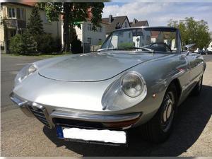 """Alfa Romeo  Junior RUNDHECK SPIDER """"Duetto"""""""