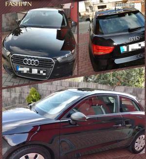 Audi A1 1. 2 TFSI Attraction, scheckheftgepflegt Schwarz