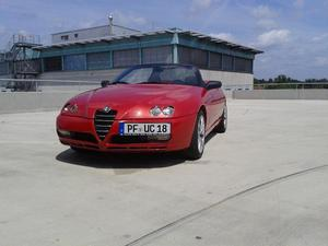 Alfa Romeo Spider 2.0 JTS Medio limited Edition  Rosso,