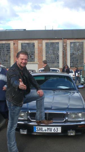 Jaguar Daimler Bj .Sommerfahrzeug,Nichtraucher.