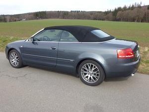 Audi A4 Cabriolet 2.0 TDI DPF Sommerfahrzeug Nichtraucher