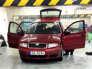 Auto SKODA Fabia rot gebraucht Kombi Benziner