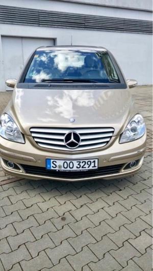 Mercedes-Benz B 200 CDI Sonderausstattung mit Lamellen Dach