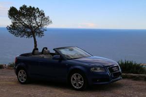 Der Frühling kommt! Schönes A3 Cabrio in blau, 1,8T