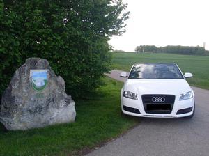 Audi A3 Cabriolet 1.2 TFSI Attraction - Ibisweiß - WIE NEU