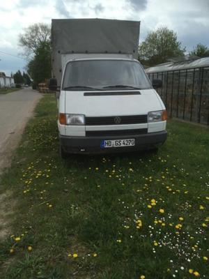 VW T4 Bus mit Pritsche und plane
