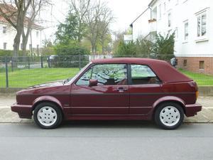 VW Golf I Cabrio Sondermodell Etienne Aigner