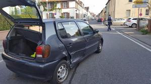 VW Polo Unfallauto