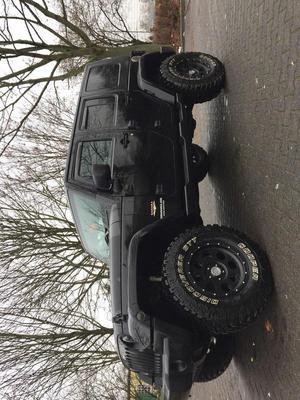 Jeep Wrangler Sahara Unlimited 2.8 CRD DPF Automatik