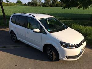 VW Touran 2.0 TDI DPF Comfortline, Weiß
