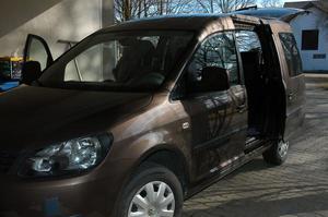 VW Caddy Trendline 1.6 TDI Toffee Braun Metallic