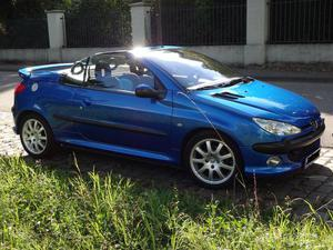 Peugeot 206cc Platinum Blau Met