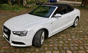 A5 Cabrio 2.0 TFSI S-Line Gletscherweiss Metallic TOP