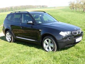 BMW X3 3.0d Aut., sehr gepflegt, TÜV/Insp. neu, Vollleder,