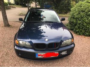 BMW Ei mit Tieferlegung und neuem Sportauspuff