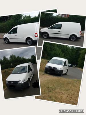 VW. Caddy für Kundendienst SHK