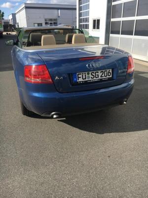 Audi A4 Cabrio 2.0 TDI DPF