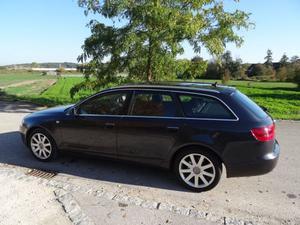 Audi A6 Avant, 3,0 TDI quattro, AHK, Luftfed., BOSE, super