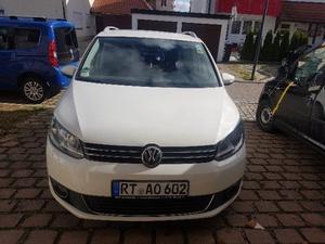 VW TOURAN 2.0 TDI fast voll Ausstattung