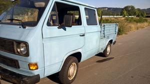 VW T3 Bus Doppelkabine DOKA Bj 87 hellblau wenige km