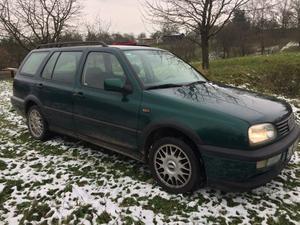 VW Golf 3 GT Klima, AHK Kombi