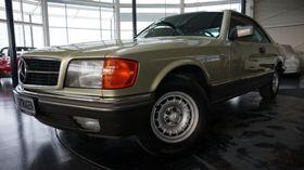 MERCEDES-BENZ 500 SEC W126,durchg. Scheckheft