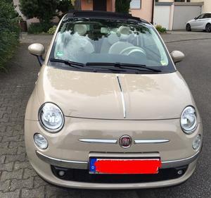 Fiat 500 C Cabrio Cappuccino