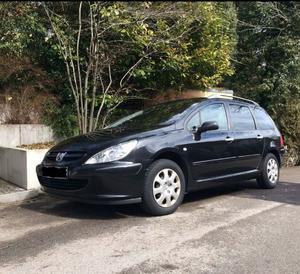 Peugeot 307 SW Break schwarz 110 PS Benzin, 6 Sitze, 1. Hd,