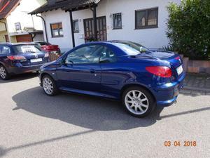 Peugeot 206 CC Montebello Blau Metallic