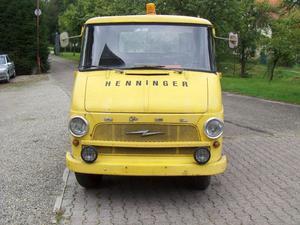 Opel Blitz 1,9 T Abschleppwagen 6 Zylinder  Oldtimer