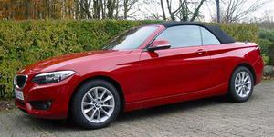 BMW 220i Cabrio, rot metallic, 1. Hand, nagelneu, perfekt